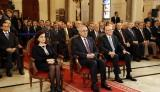 President Sleiman and the First Lady attend mass on the occasion of Saint Maron Day