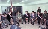 """وفد فرنسي نيابي وسياسي وديبلوماسي في زيارة وفاء والتزام يستعيد ذكريات زيارات اعضائه الى """" بيت الشعب"""" في 89-90"""