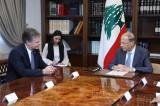رئيس الجمهورية استقبل مدير الـFBI كريستوفر راي والسفير البريطاني الجديد