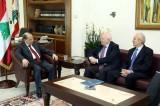 الرئيس عون استقبل الوزير الاسباني السابق موراتينوس