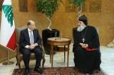 الرئيس عون استقبل بطريرك السريان الارثوذكس ووفداً من الطائفة