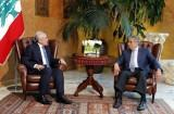 The President of the Republic received Amr Moussa