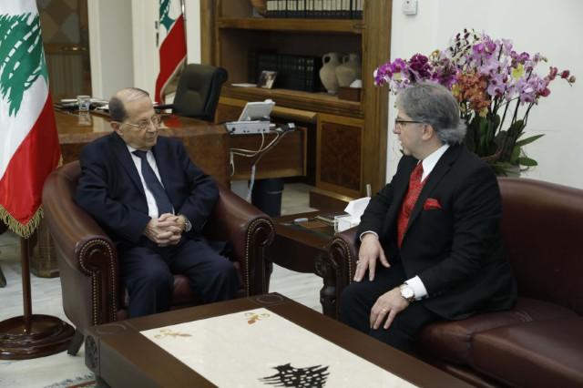 سفير لبنان المعين في بلغاريا توفيق جابر